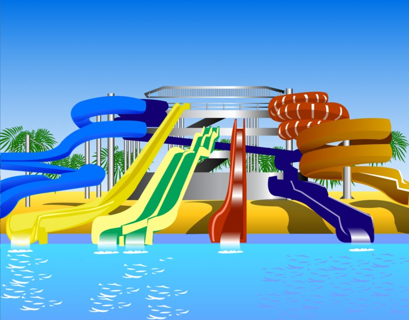 Water Park Water Slide Clip Art, PNG, 1024x801px, Water Park.