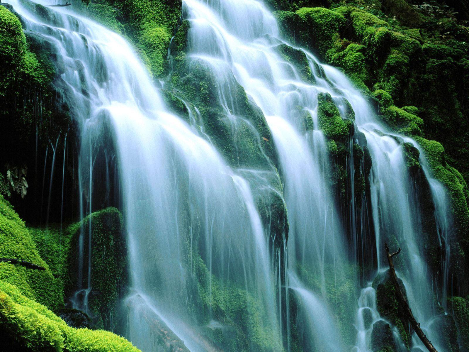 Poxy falls waterfalls.
