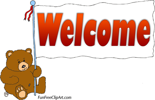 Clip Art For Welcome.