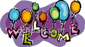 Free Clip Art Welcome Sign.