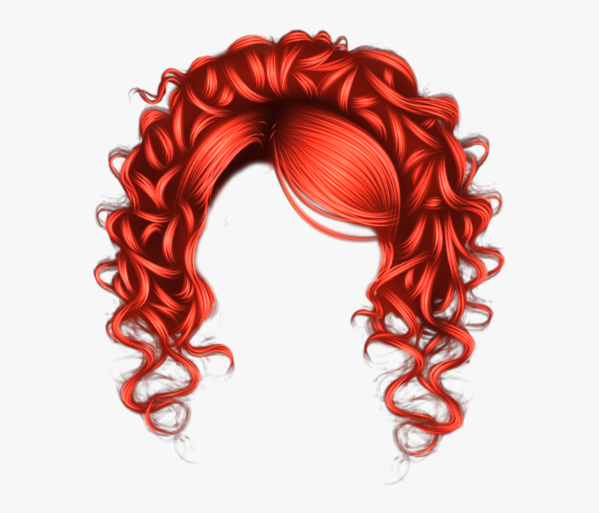 Transparent Wig Clipart.