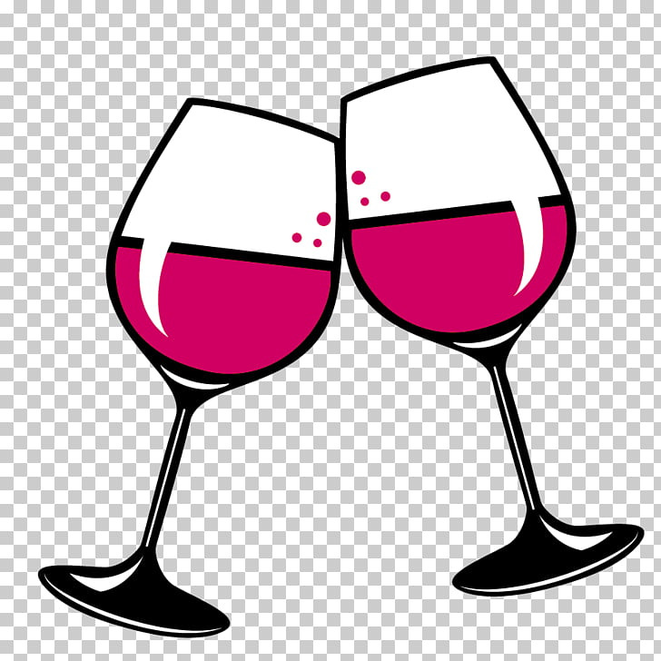 Wine glass Red Wine White wine , wine, toast of two wine.
