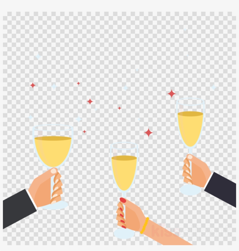 Toast Clipart Champagne Wine Glass Toast.