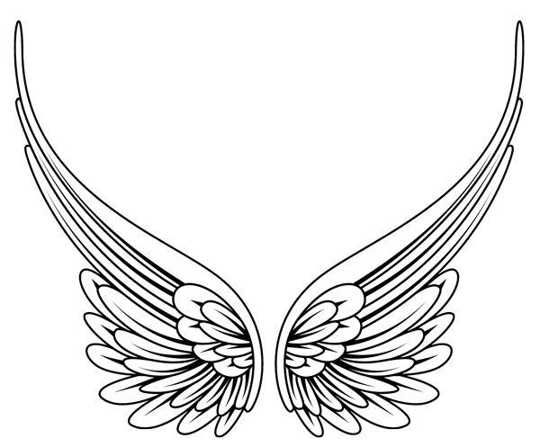 17 Best ideas about Angel Wings Clip Art on Pinterest.