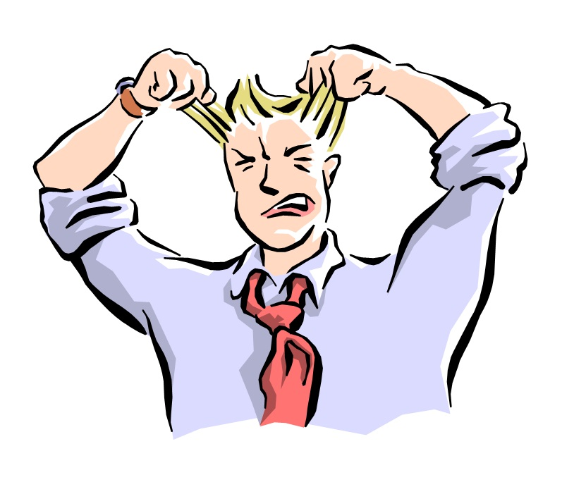Free Woman Pulling Her Hair Out, Download Free Clip Art.