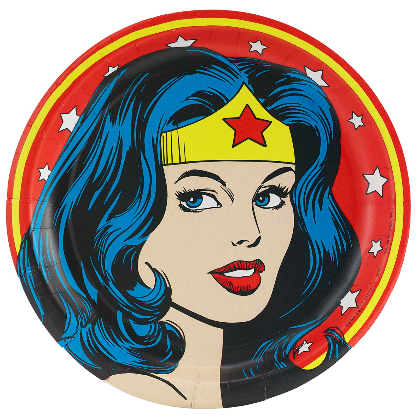 This is an image of Refreshing Wonder Woman Clip Art
