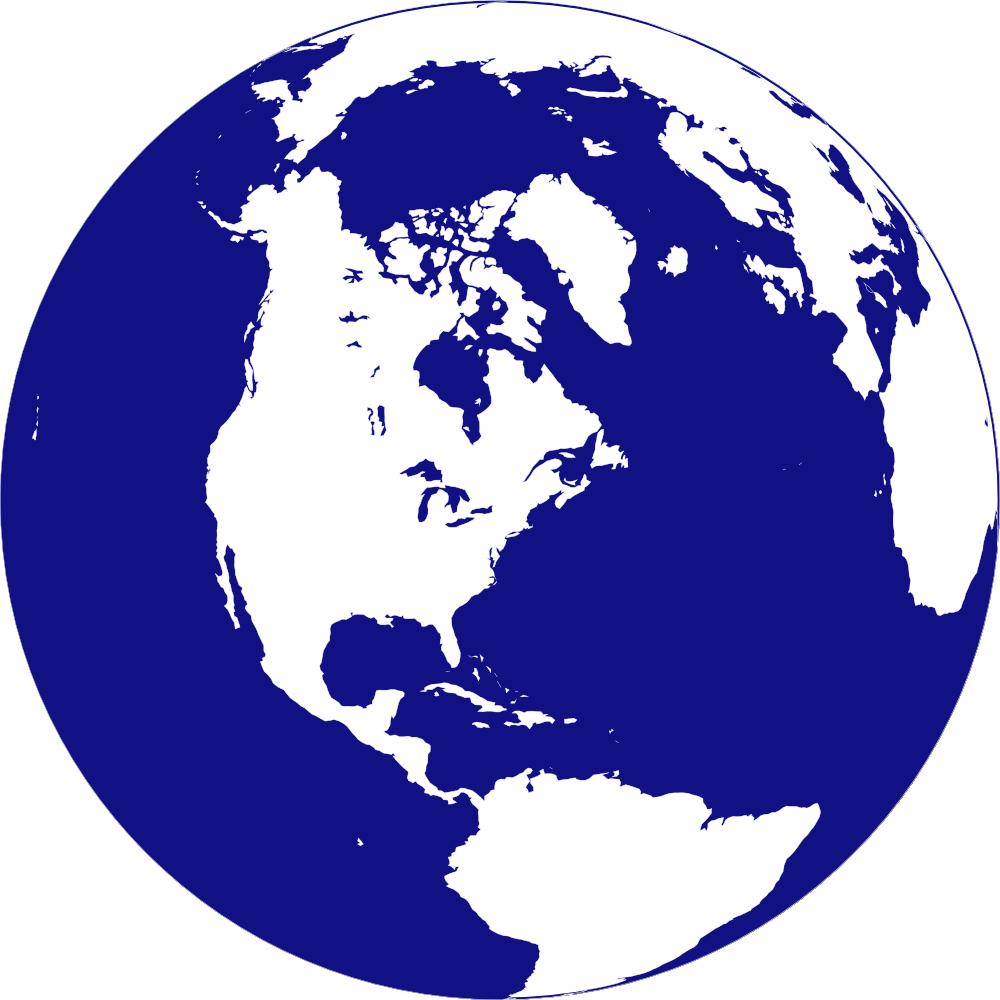 World globe clip art clipartix.