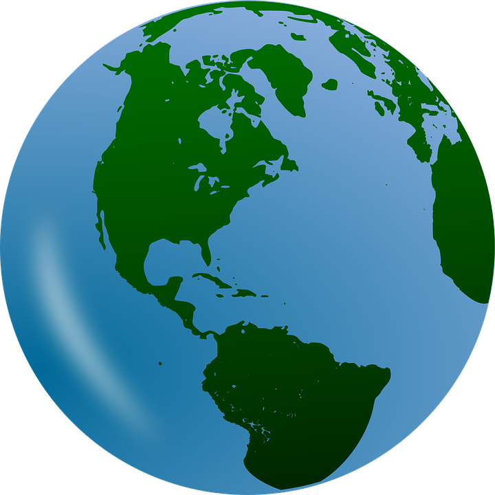 Earth Clipart Transparent Background Clipground - Us map transparent background
