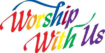 Church Worship With Us Clipart.
