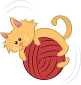 clipart of yarn #1