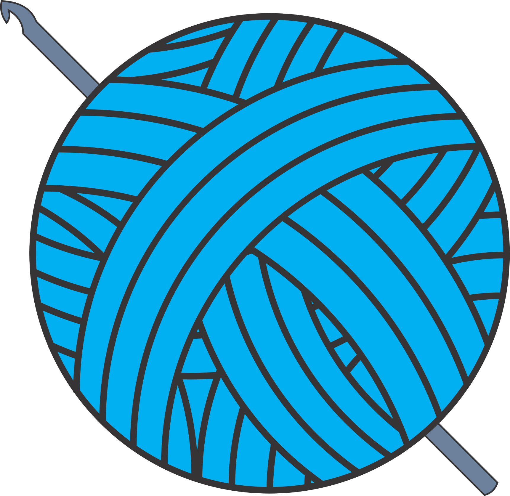 clipart of yarn clipground