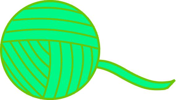 Yarn Clip Art Download.