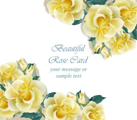 19,825 Yellow Rose Stock Vector Illustration And Royalty Free Yellow.