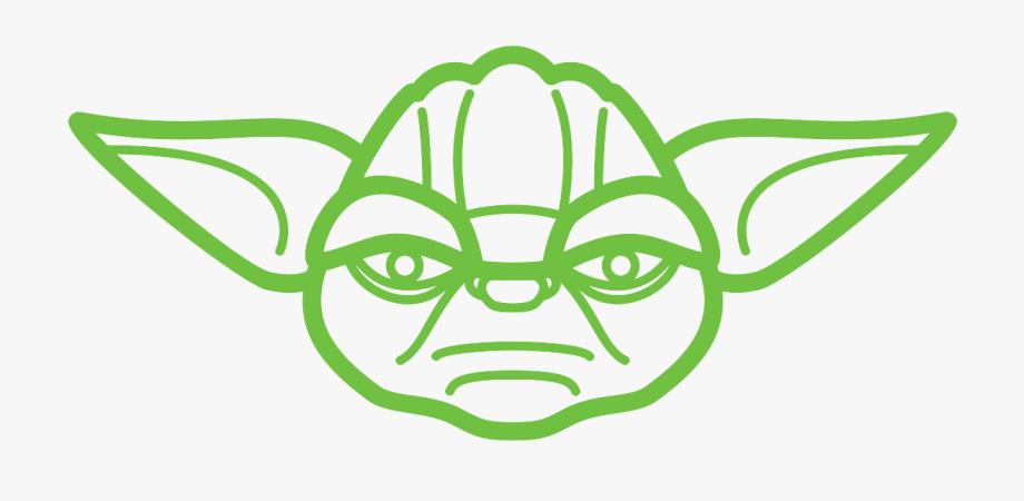 Drawing Yoda Star Wars.