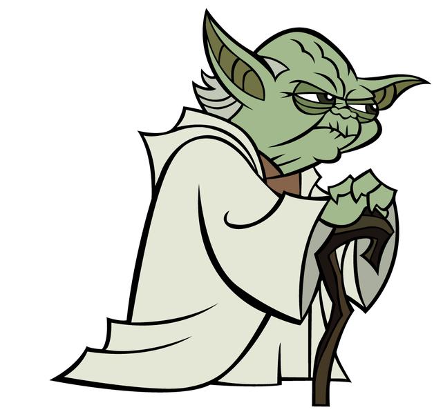 1494 Yoda free clipart.