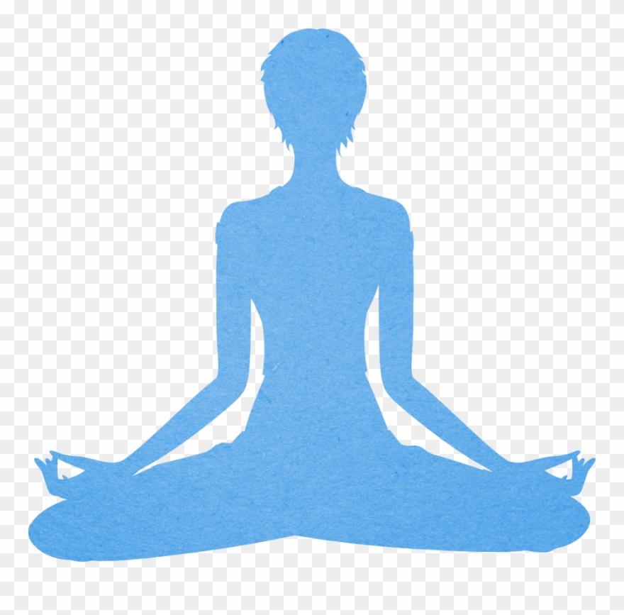 Chair Yoga Clipart.