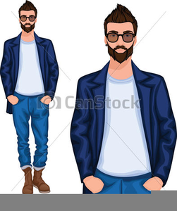 Young Man Clipart.