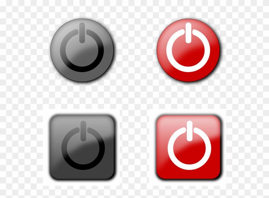 Shutdown Button Clipart Onoff.