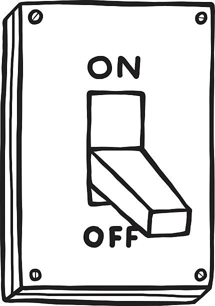 Best Off Switch Illustrations, Royalty.