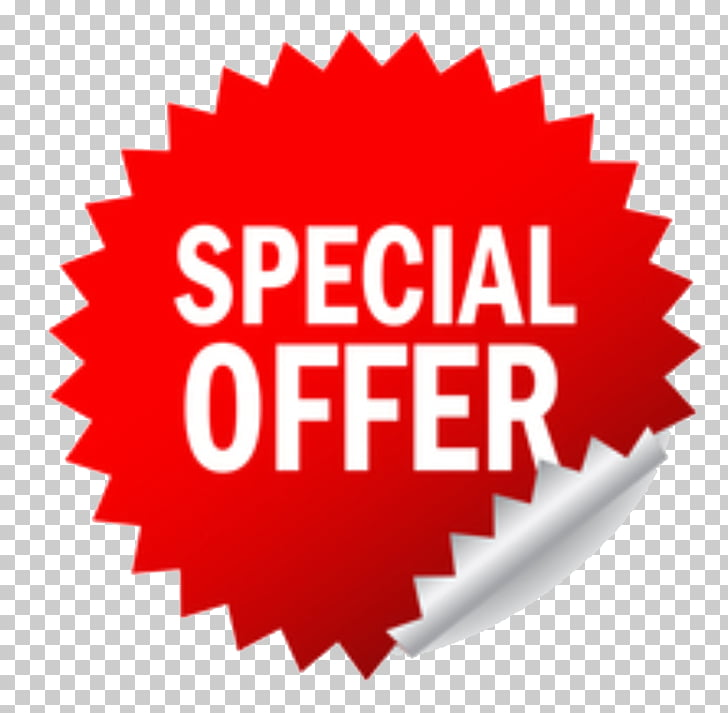 Special Offer s, white and red special offer illustration.