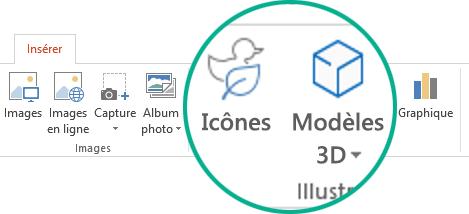 Ajouter des images clipart à votre fichier.