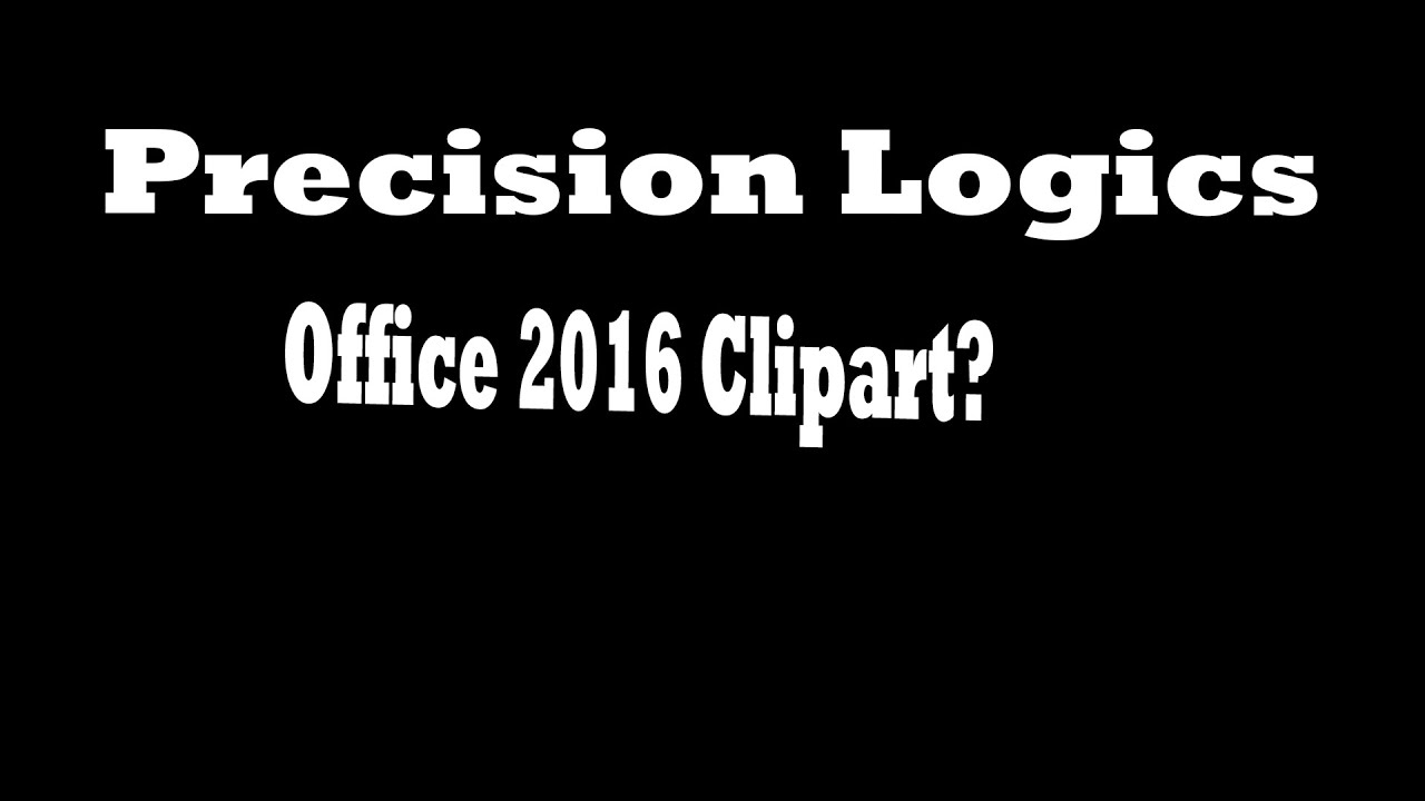 Office 2016 Clipart.