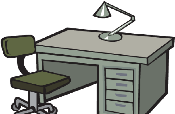Transparent Office Furniture Clipart , Transparent Cartoon.