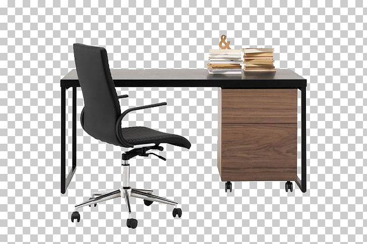 Table Office chair Desk BoConcept, Simple style office desk.