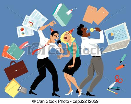Office party Vector Clip Art Illustrations. 3,281 Office party.