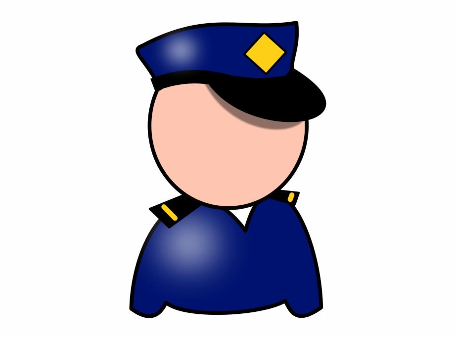 Policeman Svg Vector File, Vector Clip Art Svg File.
