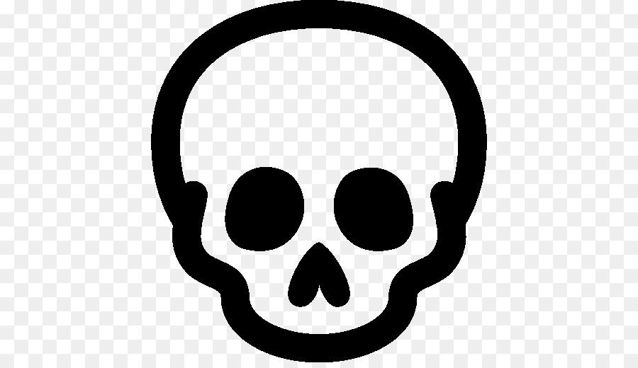 Skull Symbol clipart.
