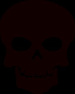 Skull Clipart For Stencils.