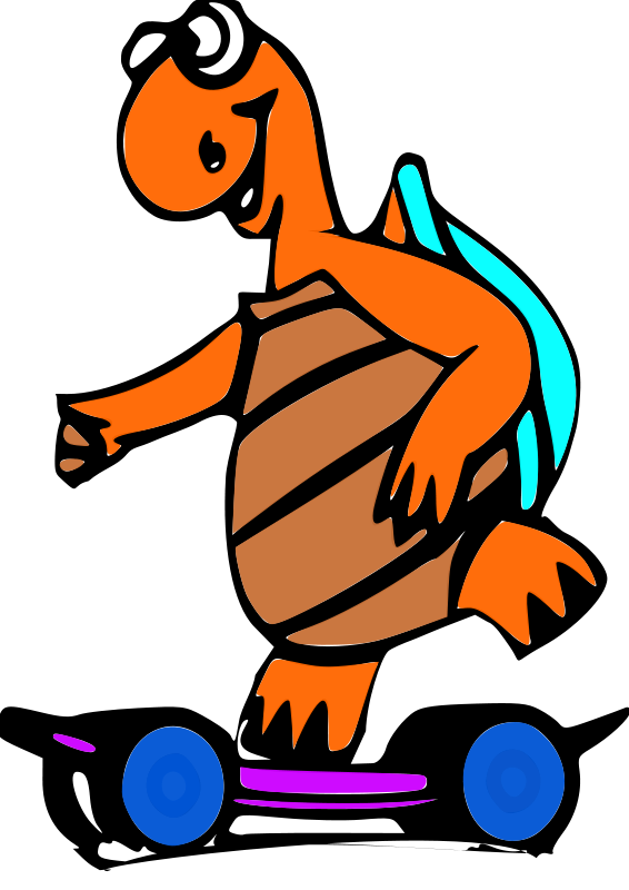 Free Turtle Clipart and Animations.