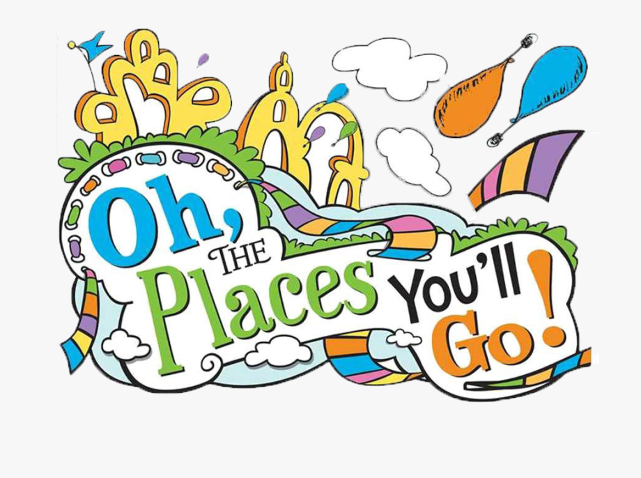 Oh The Places Ll Clipart.