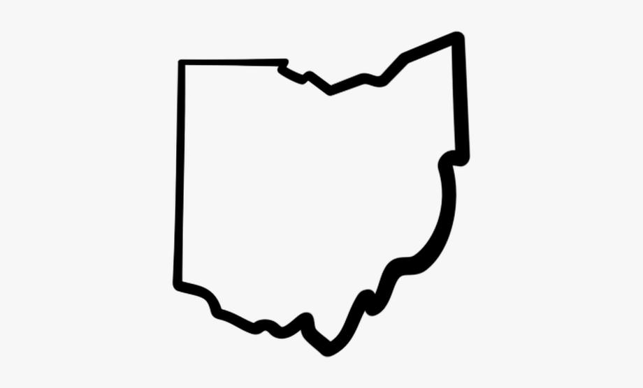 Ohio Clip Art State Outline Clipart Panda Free Clipart.