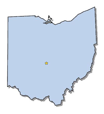 Ohio Clip Art State Outline.