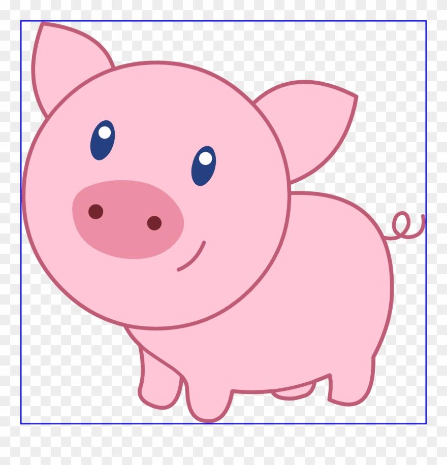 Pig Clip Art Jpg Library Download.