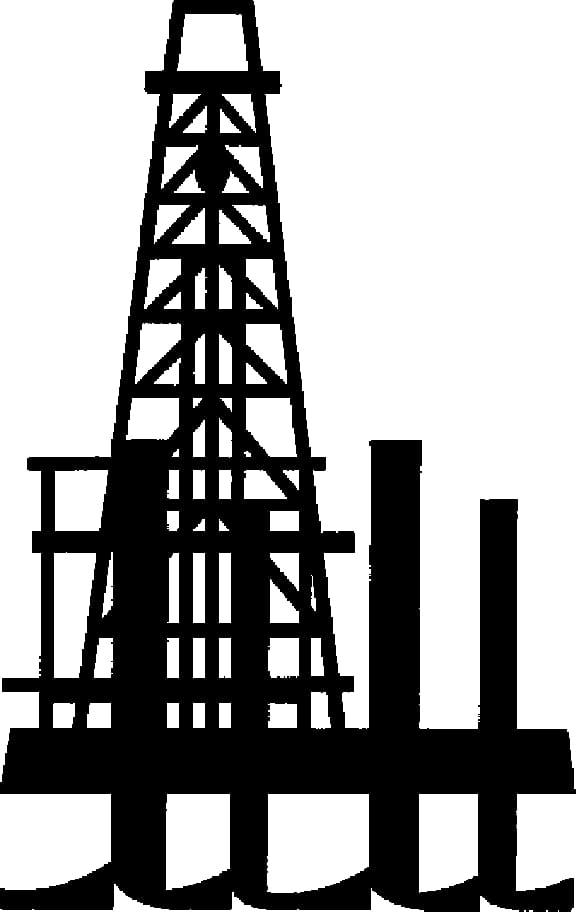 Oil platform Oil well Derrick , Natural Gas transparent.
