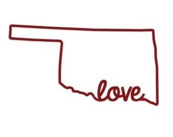 State Of Oklahoma Clipart.