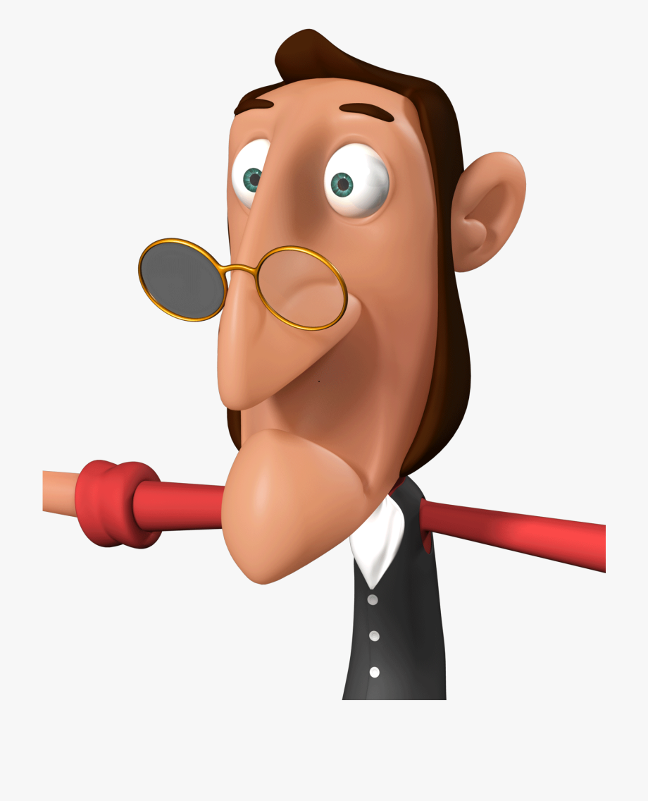 Clipart Old Man Cartoon Character , Transparent Cartoon.