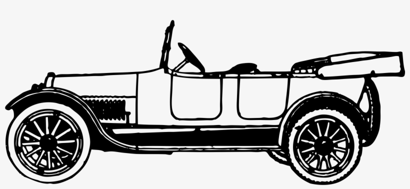 28 Collection Of Vintage Car Clipart.