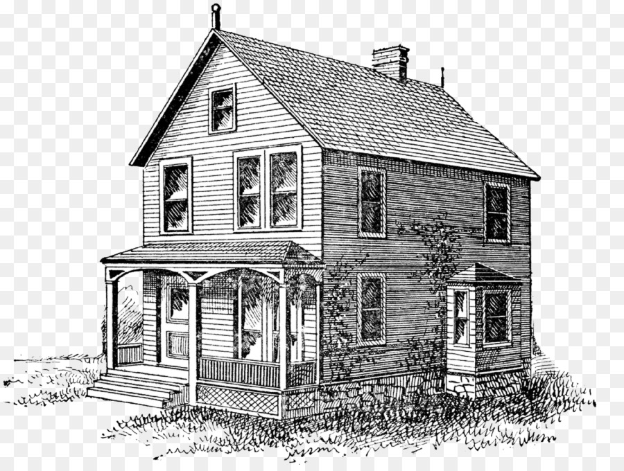 House Cartoon clipart.