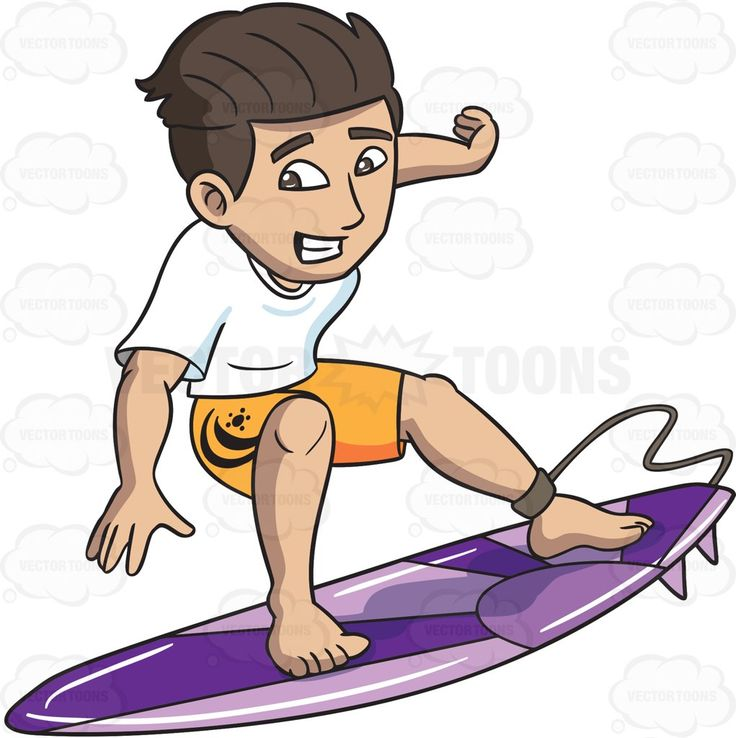 Showing post & media for Surfing guy cartoon.