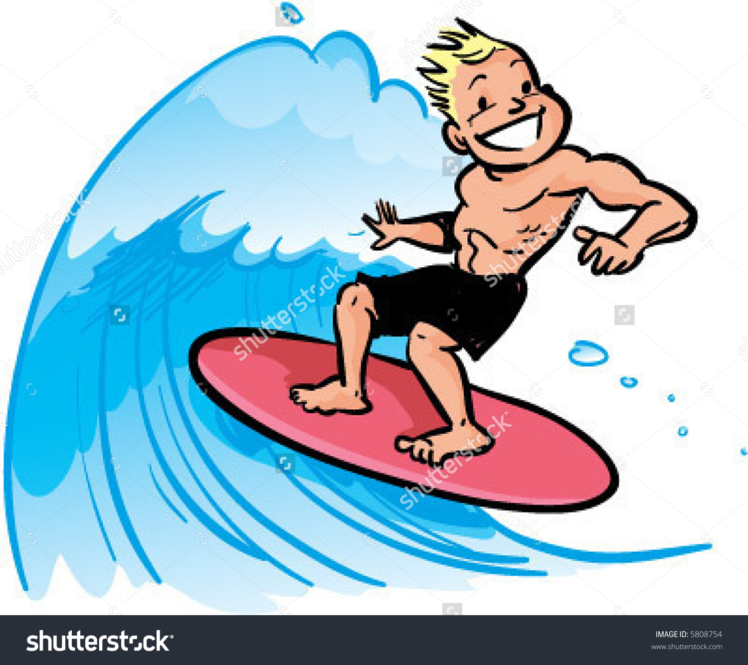 Clipart Old Man Surfing Clipground