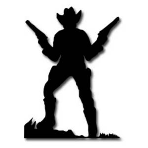 Old West Cowboy Clipart.