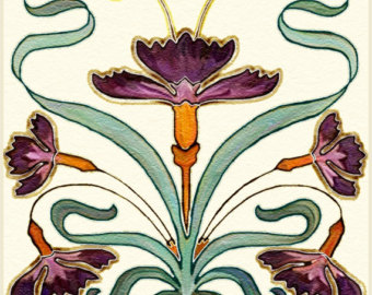 Old World Artistic Tile Ceramic Kitchen Bath Accent Back.