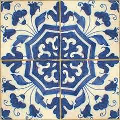 Portuguese Tiles can add a beautiful and Old World appeal as a.