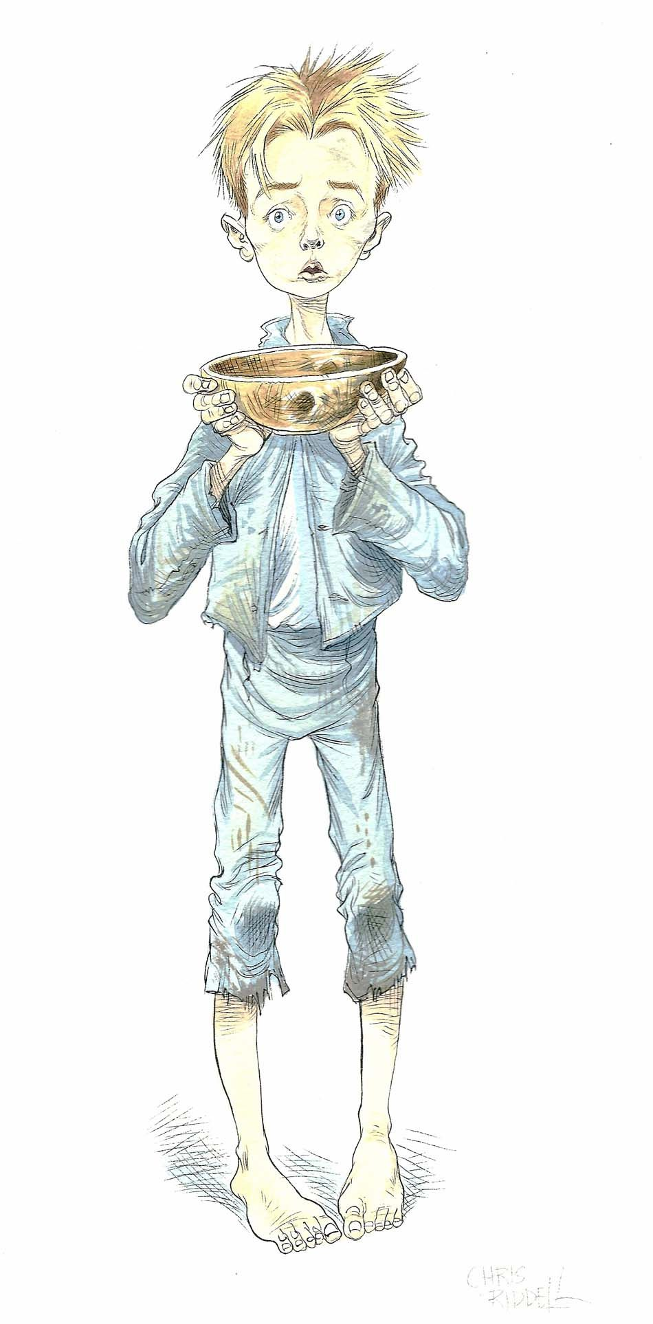 Image result for theatrical costume sketches oliver.