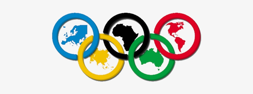 Clipart Transparent Stock Olympic Rings Clipart.