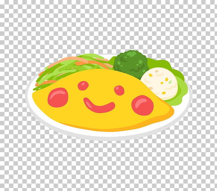 Smiley, omlet PNG clipart.
